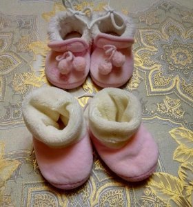 Тёплая обувь для девочки
