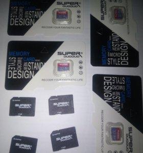 Карты памяти MicroSD 32 gb