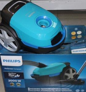 Пылесос Philips новый