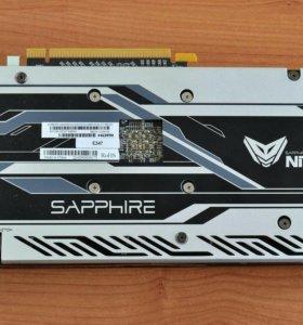 Видеокарта sapphire nitro + rx 470 4gb 256bit