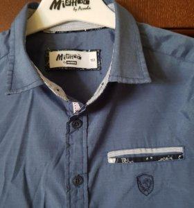 Рубашка Акула размер 146-152