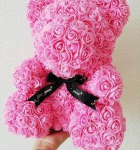 Мишки Teddy из 3D роз