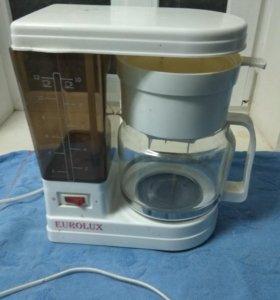Кофеварка Eurolux