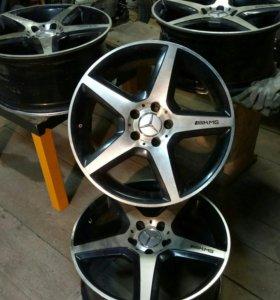 Литые диски AMG R18
