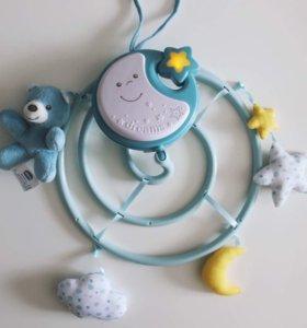 Мобиль на кроватку Chicco Next2Dreams голубой