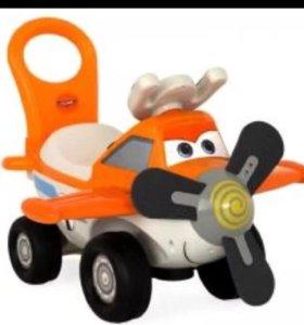 Каталка-пушкар самолёт Дасти