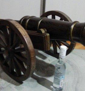 Пушка деревянная