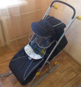 Санки коляска Nika 2