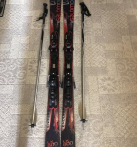 Лыжи Salomon LX800 Enduro КОМПЛЕКТ