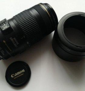 Объектив Canon EF 70-300mm f/4-5.6 IS USM+бленда
