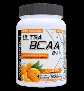 MASS EFFECT Ultra BCAA 2:1:1 400 гр, банка