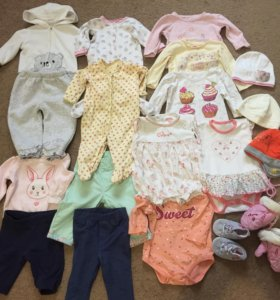 Пакет одежды на малышку
