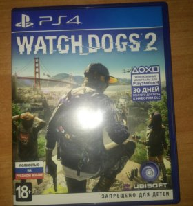 Продам игру WATCH DOGS 2 на Ps4