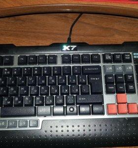 Игровые Клавиатура A4tech X7