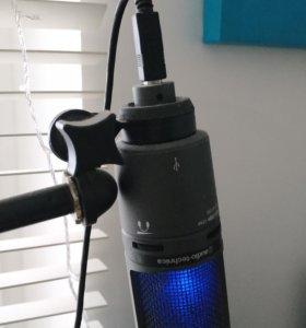 Микрофон Audio Technica AT2020 USB+