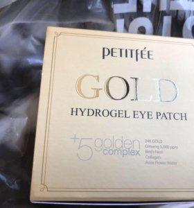 Гидрогелевые патчи Petitfee Gold Hydrogel eye patc