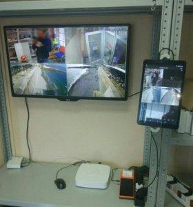 Видеонаблюдение , домофоны, скуд - установка.
