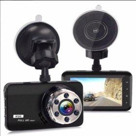 Автомобильный видеорегистратор T638G (черный)