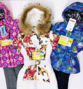 Kiko костюмы для девочки зима
