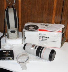 Объектив Canon EF 300 mm f/4l is usm