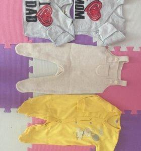 Пакет вещей на девочку 56-52 размер