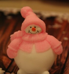 Мыло «Снеговик Пухляк»