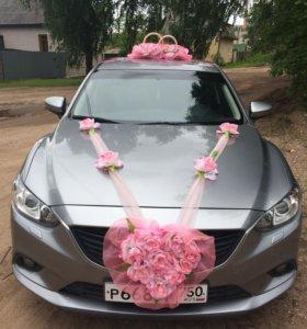 Аренда авто МАЗДА на свадьбу цена договорна
