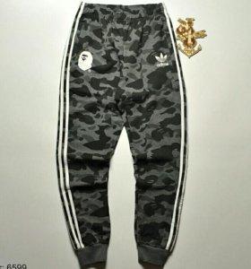Adidas × Bape [Спортивные штаны]