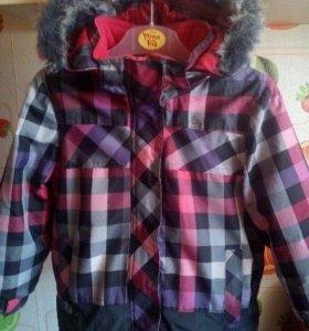 Горнолыжная куртка на мембране, зима