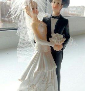 Фигурка для торта свадьба