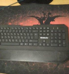Клавиатура + мышь (беспроводная)