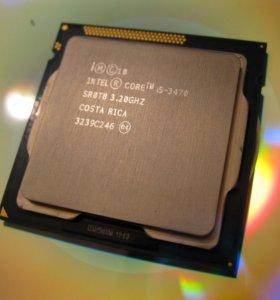 Интел 1155 ай3 - 3.4ггц + кулер