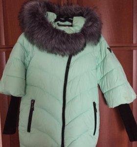 Стильная тёплая зимняя куртка! 44-46 р-р!