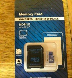 Флешка microSD 32 гб