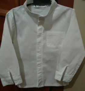 Рубашка белая р.100