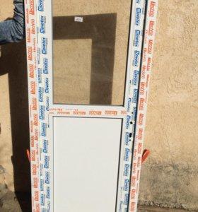 Металлопластиковая дверь 🚪(новая)