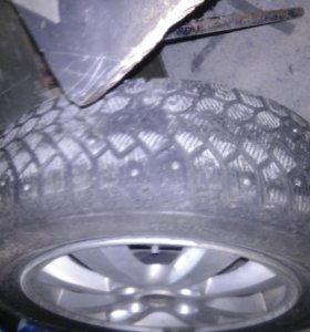 колеса от Nissan