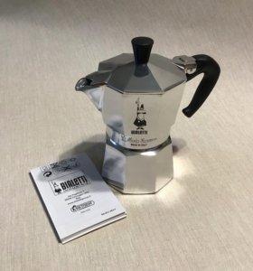 Bialetti Moka Express (гейзерная кофеварка)