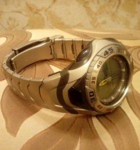 Титановый браслет на часы Касио