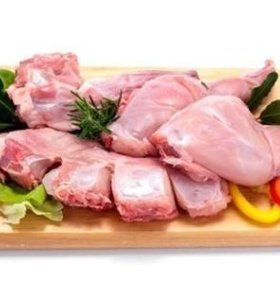 Парное мясо кролика - тушка
