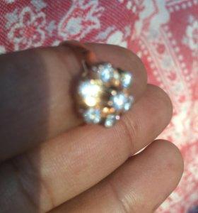 Кольцо с брилиантами