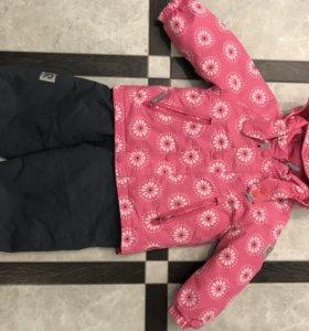 Комплект куртка и полукомбинезон Reima.