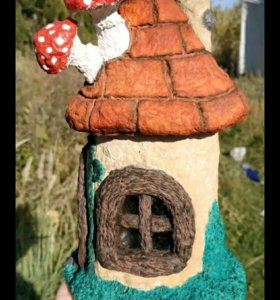 Сказочный домик ручной работы