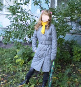 Осеннее пальто плащ на синтепоне SAVAGE 40 р-р