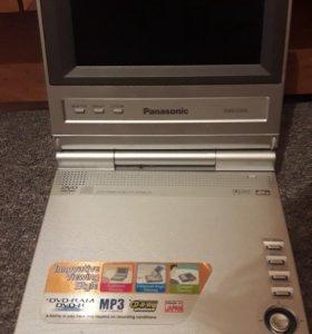 Портатив. DVDпроигрыватель Panasonic, пр-во Япония