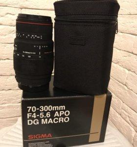 Объектив SIGMA AF70-300mm F4-5,6 для фотоаппарата