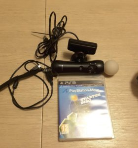 PlayStation Move: Контроллер движений PS Move + Ка