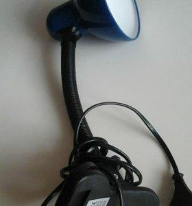 Новая лампа-прищепка