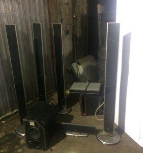 домашний кинотеатр LG XH-T762PZ