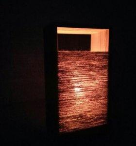Светильник в стиле LOFT с диммером
